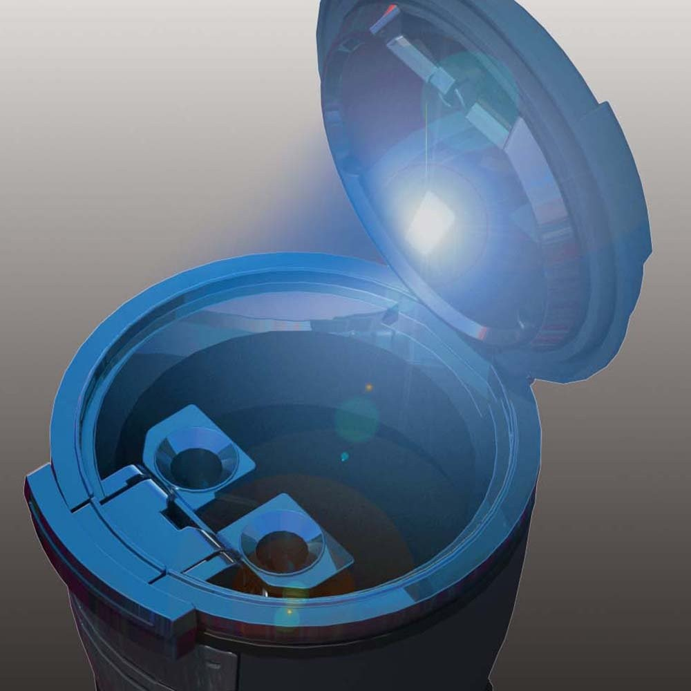 Fizz センサーイルミアッシュ Fizz-975 (ブラック)の商品画像 2