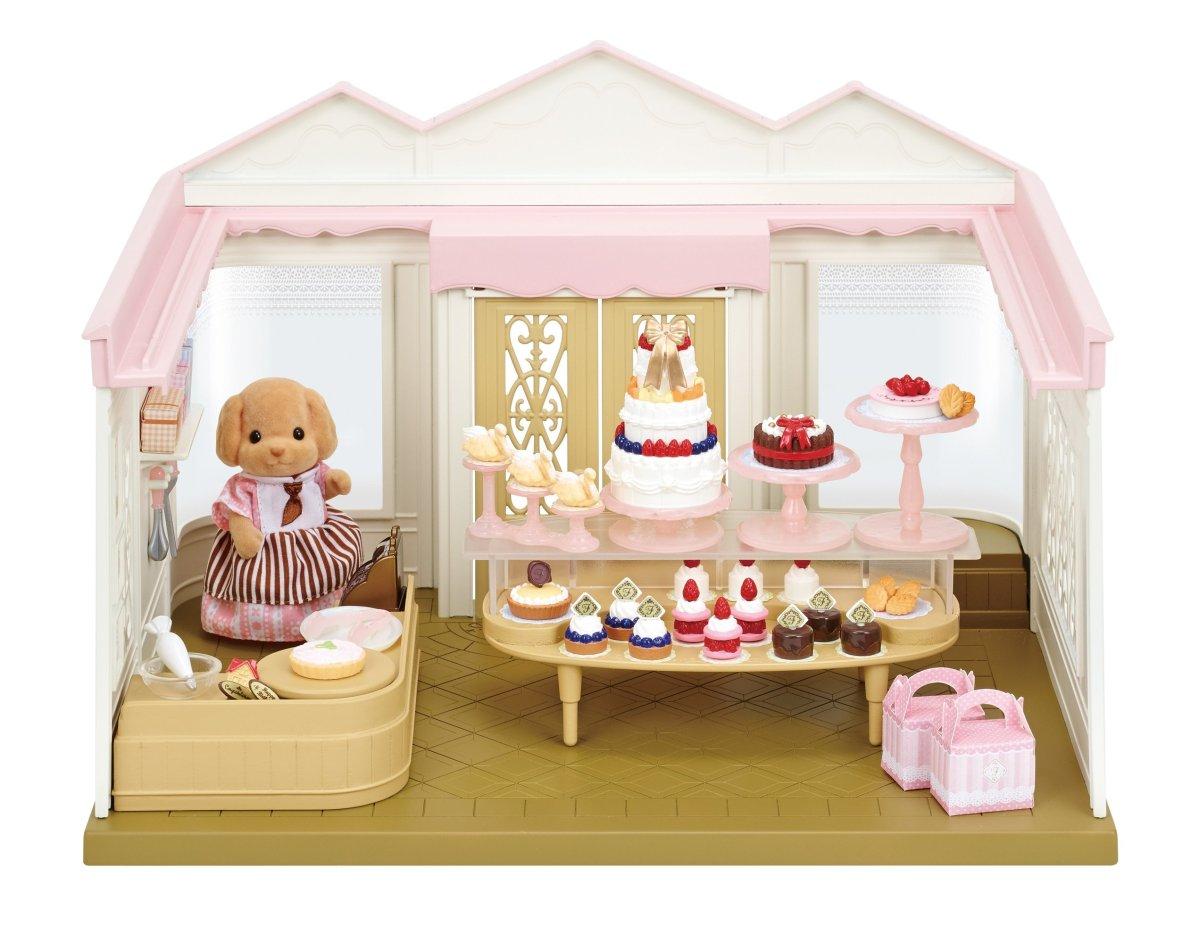エポック社 シルバニアファミリー こだわりパティシエのケーキ屋さんの商品画像 ナビ