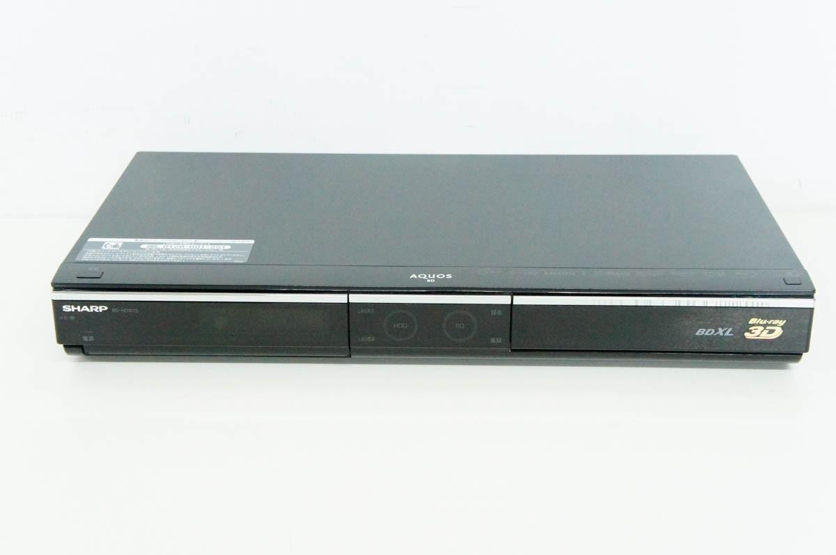シャープ AQUOS BD-HDW75の商品画像|2