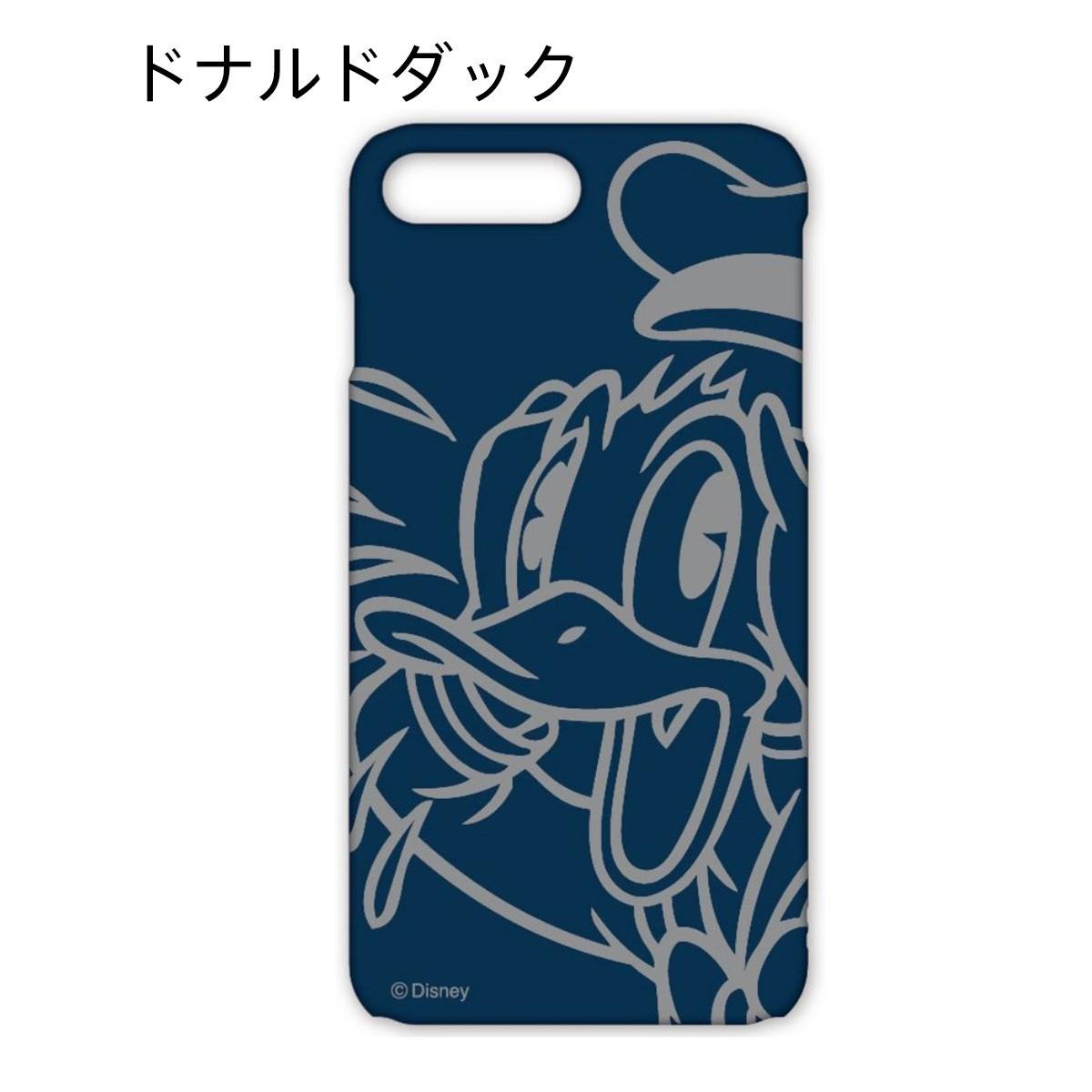 グルマンディーズ iPhone 7 Plus用 ディズニーキャラクター ハードケース ドナルドダック DN-389Aの商品画像|2
