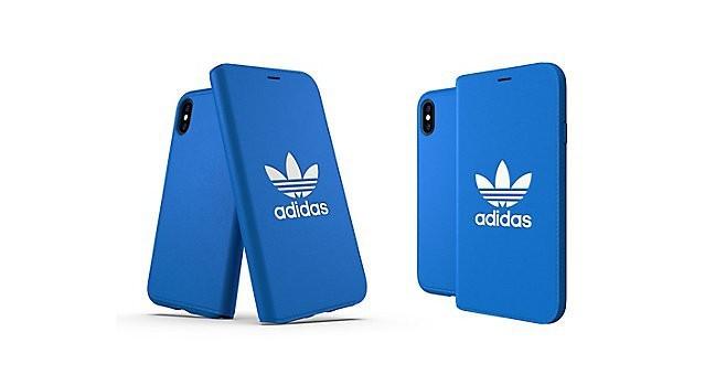 iPhone XS OR Booklet Case CLASSICS TREFOIL FW18 Bluebird/White 31586の商品画像|2