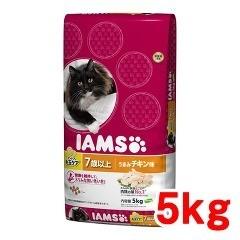 アイムス インドア 毛玉ケア シニア用 7歳以上 うまみチキン味(5kg)