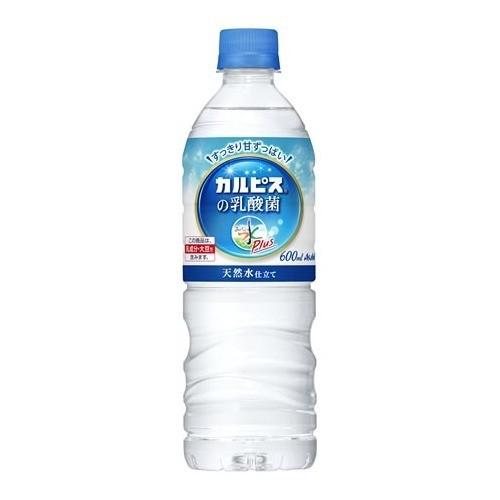 おいしい水プラス 「カルピス」の乳酸菌(600mL*24本入)