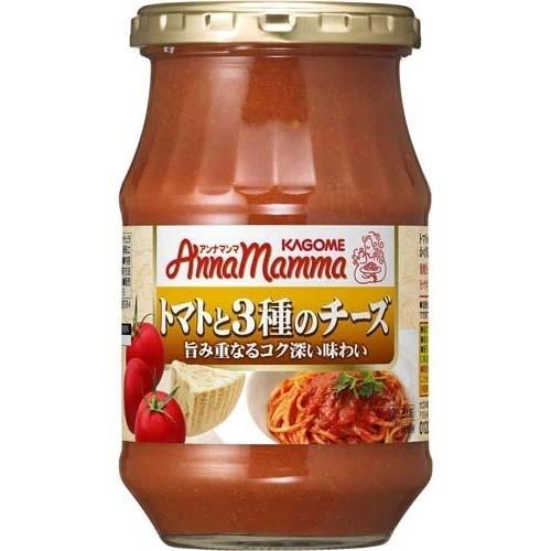 カゴメ アンナマンマ トマトと3種のチーズ(330g)