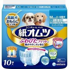 ユニチャーム ペット用紙オムツ Mサイズ(10枚入)