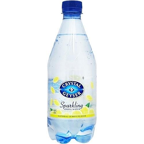クリスタルガイザー スパークリング レモン (無果汁・炭酸水)( 532mL*24本入)