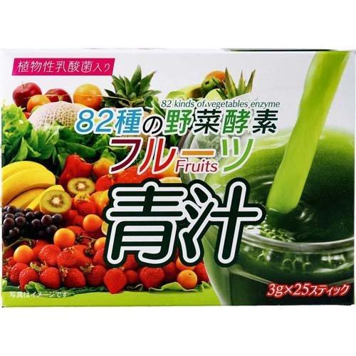 82種の野菜酵素 フルーツ青汁(3g*25スティック)
