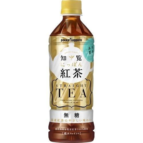 知覧 にっぽん紅茶 無糖(500mL*24本入)