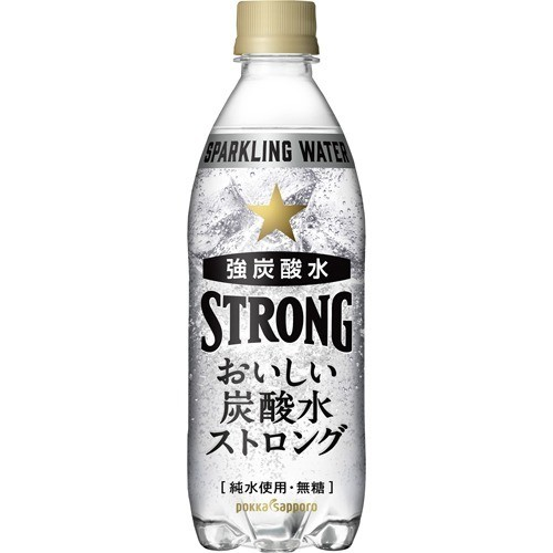 おいしい炭酸水 ストロング(500mL*24本入)