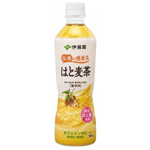 伝承の健康茶 はと麦茶(500mL*24本入)