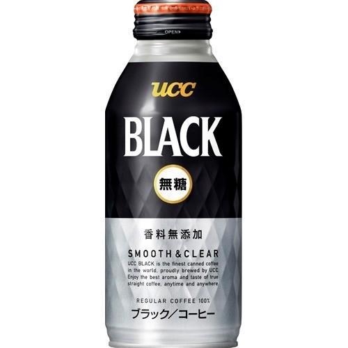 UCC ブラック無糖 スムース&クリア(375g*24本入)