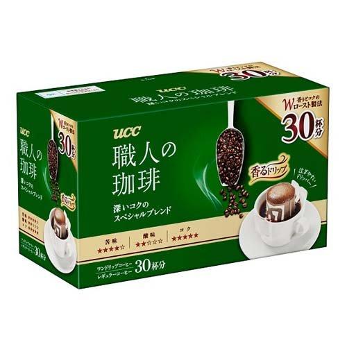 UCC 職人の珈琲 ドリップコーヒー 深いコクのスペシャルブレンド(30杯分)