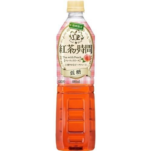 紅茶の時間 ティーウィズピーチ 低糖(930mL*12本入)