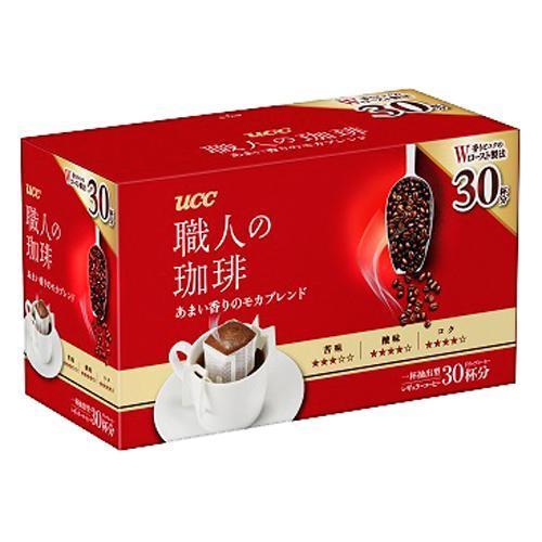 UCC 職人の珈琲 ドリップコーヒー あまい香りのモカブレンド(30杯分)