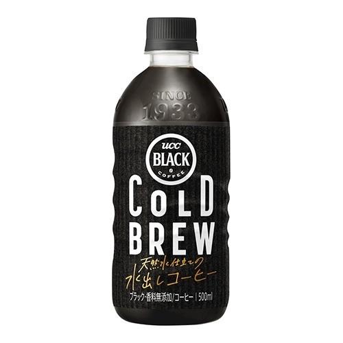UCC ブラック COLD BREW(500mL*24本入)