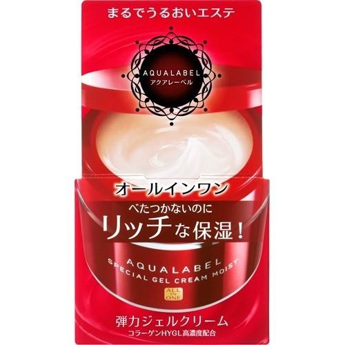 資生堂 アクアレーベル スペシャルジェルクリーム モイスト(90g)