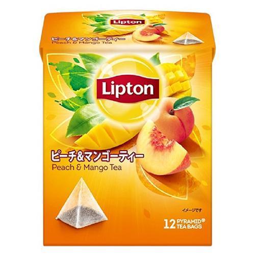 リプトン ピーチ&マンゴー ティーバッグ(12包)
