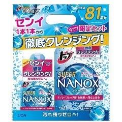 トップスーパー ナノックス 本体+つめかえ用セット(1セット)