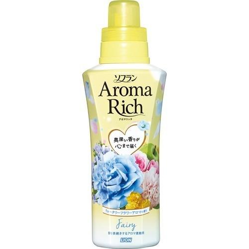 ソフラン アロマリッチ フェアリー ウォータリーフラワーアロマの香り 本体(550mL)
