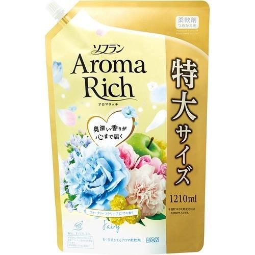 ソフラン アロマリッチ フェアリー ウォータリーフラワーアロマの香り 詰替用特大(1210mL)