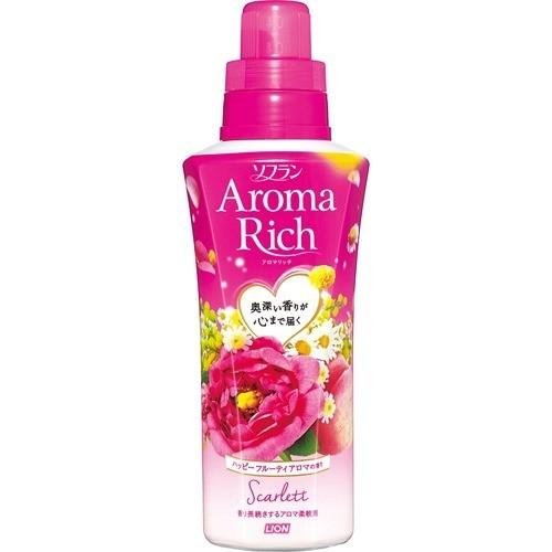 ソフラン アロマリッチ スカーレット ハッピーフルーティアロマの香り 本体(550mL)