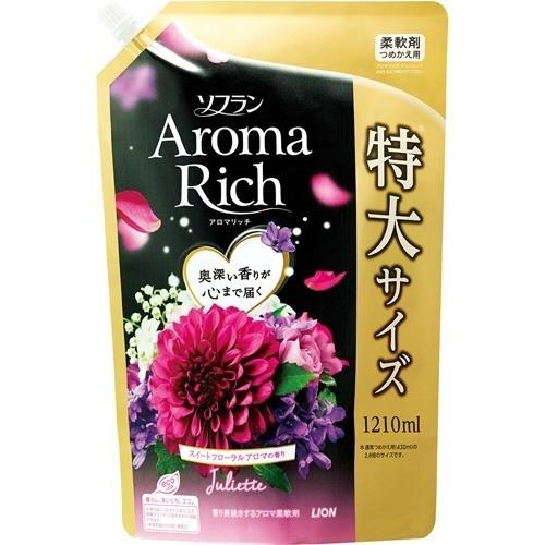 ソフラン アロマリッチ ジュリエット スイートフローラルアロマの香り  詰替用特大(1210mL)