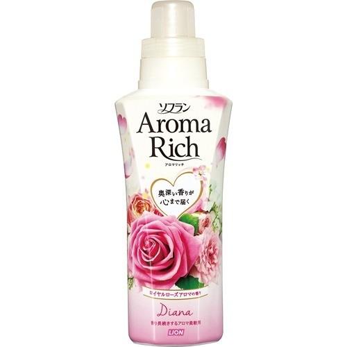 ソフラン アロマリッチ ダイアナ ロイヤルローズアロマの香り 本体(550mL)