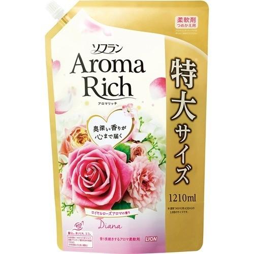 ソフラン アロマリッチ ダイアナ ロイヤルローズアロマの香り  詰替用特大(1210mL)