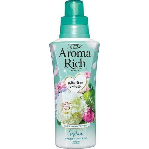 ソフラン アロマリッチ ソフィア ピュアフローラルアロマの香り 本体(550mL)