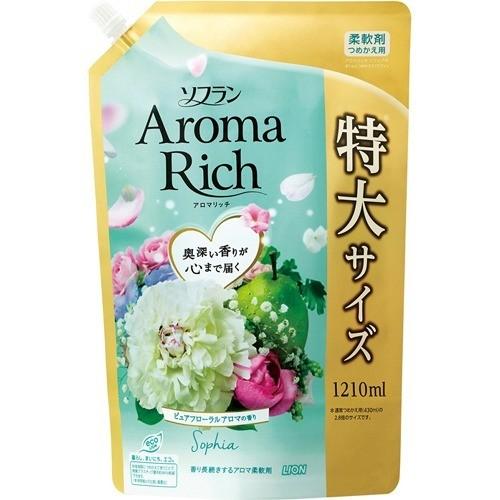 ソフラン アロマリッチ ソフィア ピュアフローラルアロマの香り 詰替用特大(1210mL)