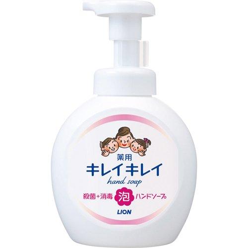キレイキレイ 薬用泡ハンドソープ シトラスフルーティの香り 本体 大型サイズ(500mL)