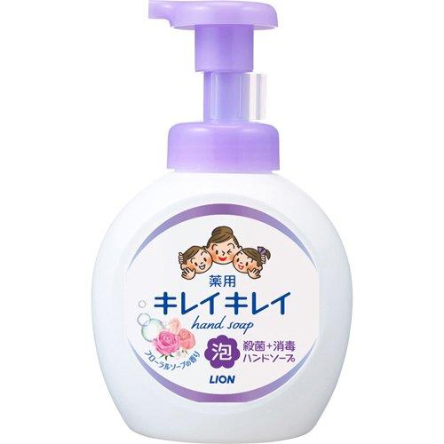キレイキレイ 薬用泡ハンドソープ フローラルソープの香り 本体 大型サイズ(500mL)