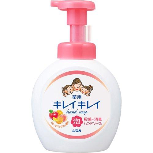 キレイキレイ 薬用泡ハンドソープ フルーツミックスの香り 本体 大型サイズ(500mL)