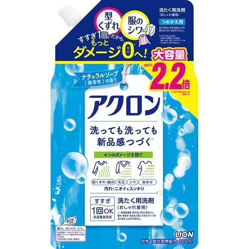 アクロン ナチュラルソープの香り つめかえ用大(900mL)