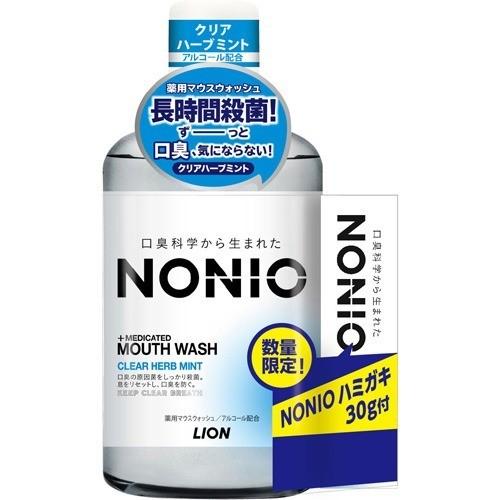 ノニオ マウスウォッシュ クリアハーブミント ハミガキ付(600mL+30g)