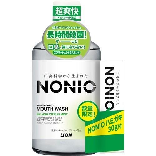 ノニオ マウスウォッシュ スプラッシュシトラスミント ハミガキ付(600mL+30g)