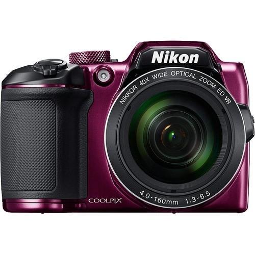 ニコンデジタルカメラ クールピクス B500 プラム(1台)