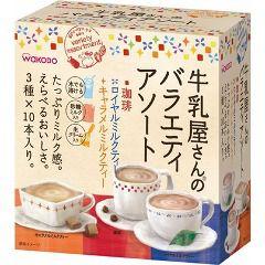 牛乳屋さんのバラエティアソート 箱(3種*各10本入)