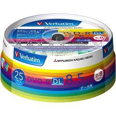 バーベイタム DVD-R DL 8.5GB PCデータ用 8倍速対応 25枚 DHR85HP25V1(1セット)