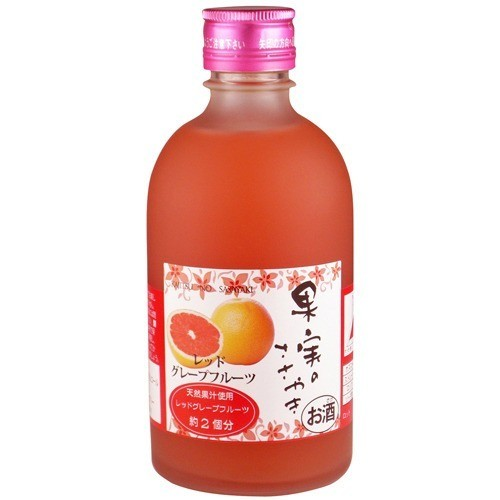 果実のささやき レッドグレープフルーツ(300mL)