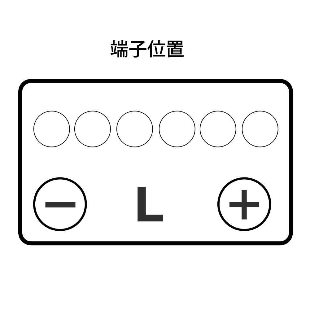 パナソニック SBバッテリー 55B24Lの商品画像|2