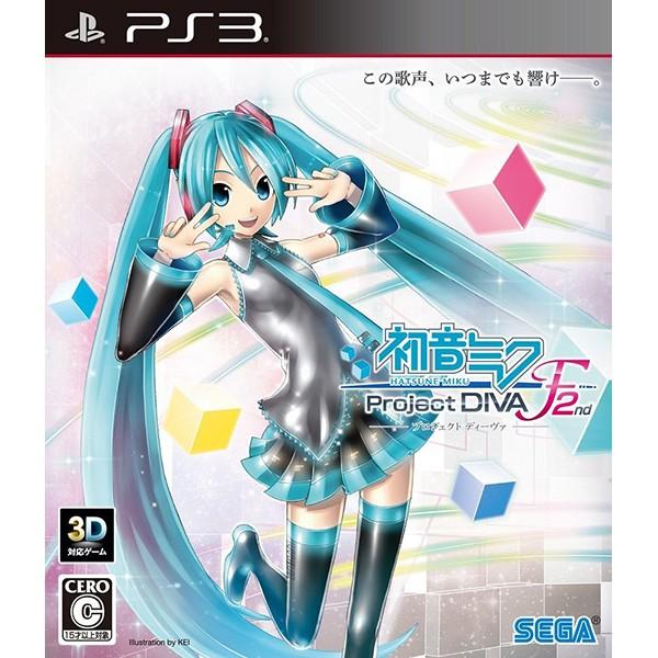 【PS3】セガ 初音ミク -Project DIVA- F 2ndの商品画像|ナビ