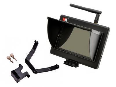 ハイテック 5.8GHz FPV用LCDモニターセット(X251/A1200) XKX251-018の商品画像|ナビ