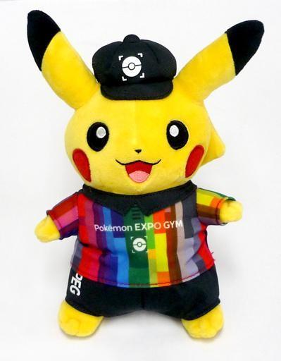 ポケモンセンターオリジナル ぬいぐるみ ポケモン EXPOジム (ピカチュウ)の商品画像 ナビ