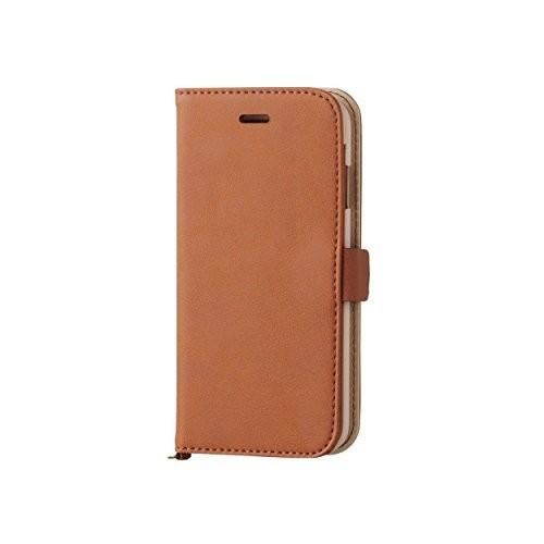 iPhone 6s用 ソフトレザー 磁石タイプ ブラウン PM-A15PLFYBRの商品画像|2