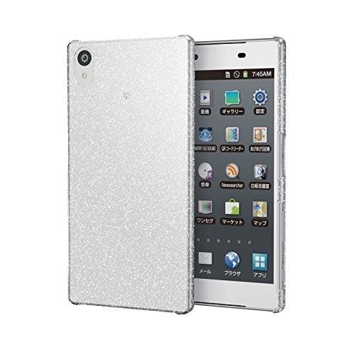 エレコム Xperia Z5用 シェルカバー ラメクリア PM-SOZ5PVBSVCRの商品画像|2