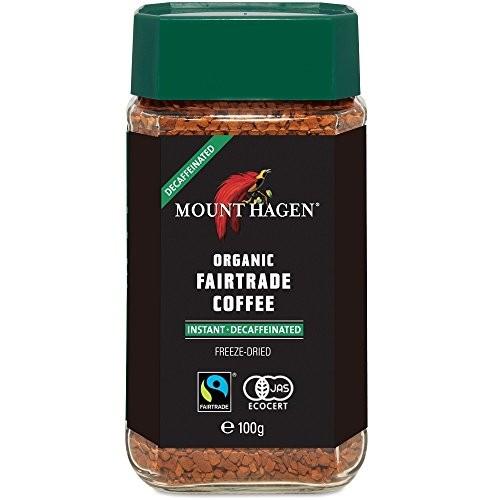 マウントハーゲン オーガニック フェアトレード カフェインレス インスタントコーヒー 瓶 100g×1個の商品画像|3