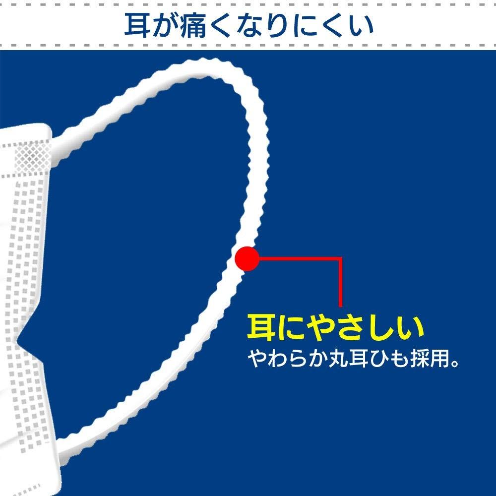 アイリスオーヤマ 安心・清潔マスク ふつうサイズ 100枚入り H−PK−AS100Mの商品画像|3