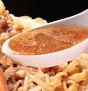 醤油際立つ甘めのコク旨スープ