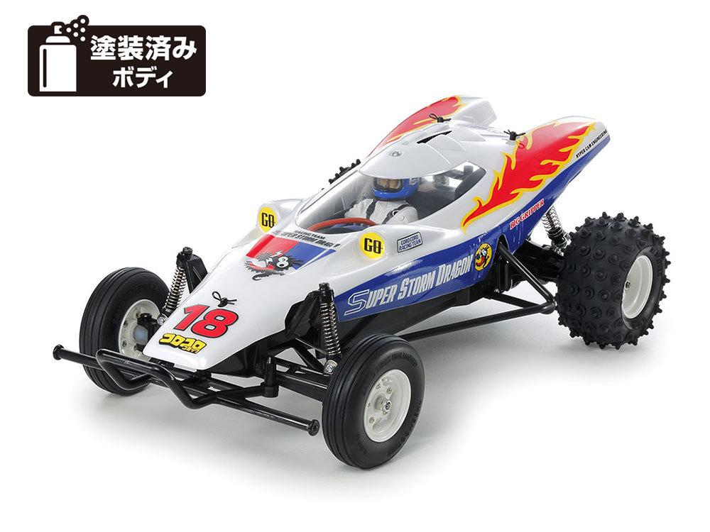タミヤ 1/10RC スーパーストームドラゴン 47438の商品画像 ナビ